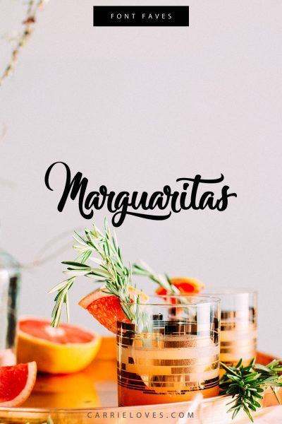 My most favorite FREE fonts – 1st edition