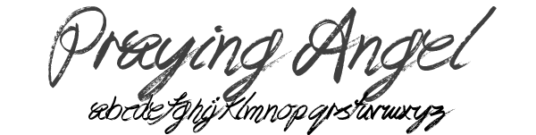 prayingangelfont