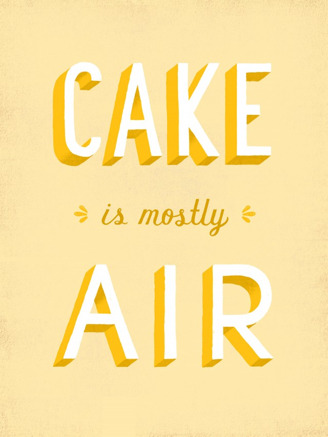 daily dishonesty cake is mostly air