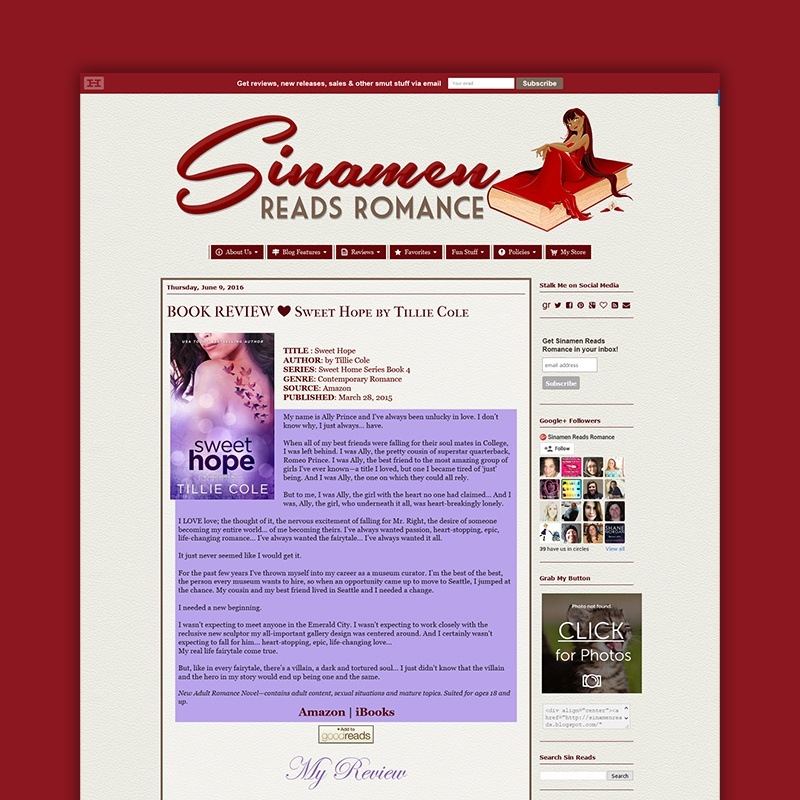 Sinamen Reads Romance