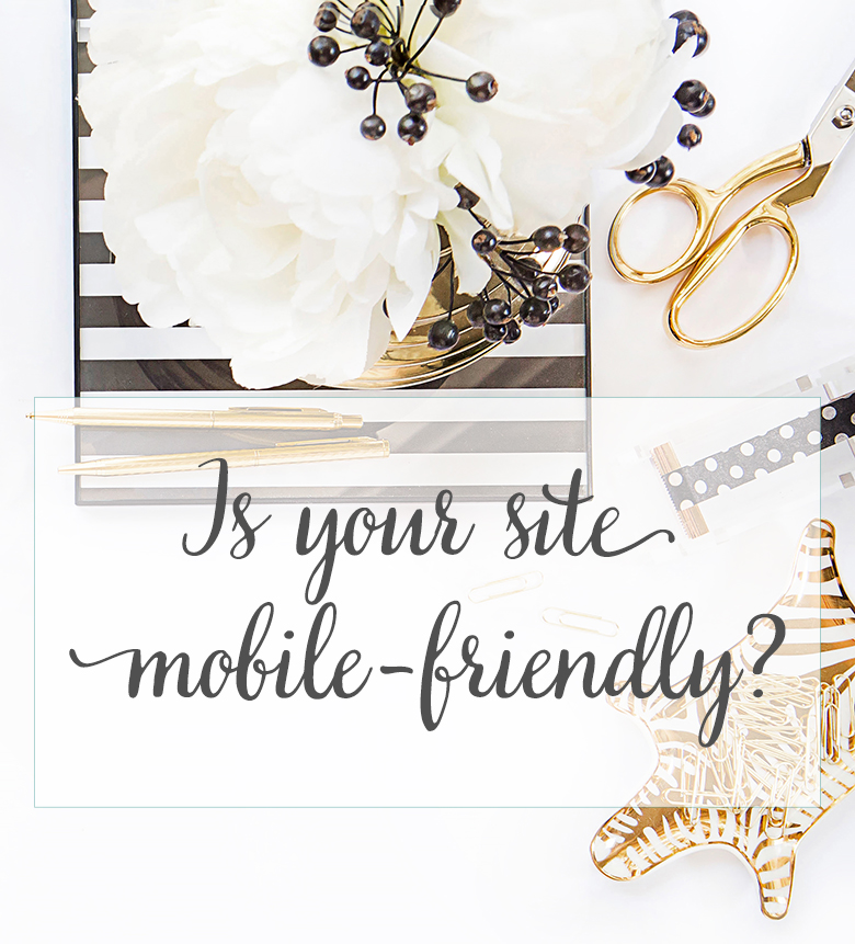 mobile friendly responsive blog design
