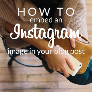 how to embed instagram images