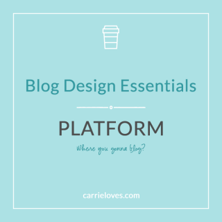 how to decide what platform to use for your site