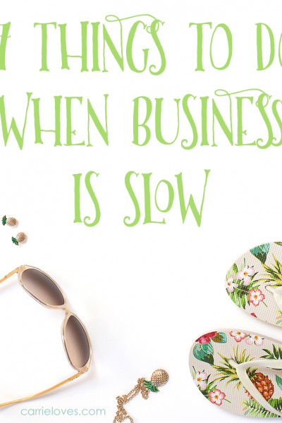 17 things to do when your freelance business is slow