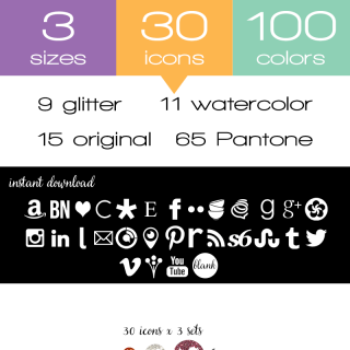 "free social media icons from carrie loves"" title=""free social media icons from carrie loves"