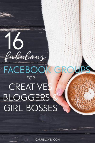 16 Facebook groups for creative freelancers, bloggers & entrepreneurs