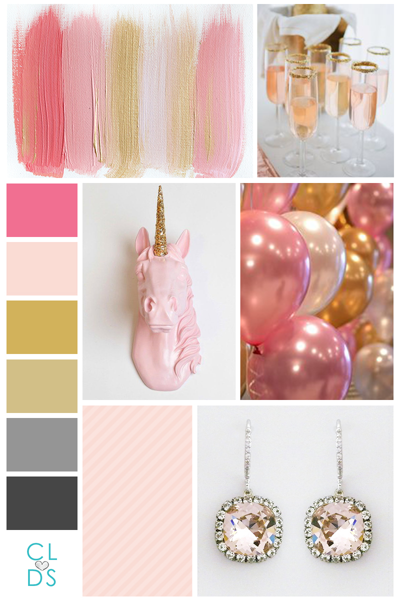 schmexy girl book blog color story board