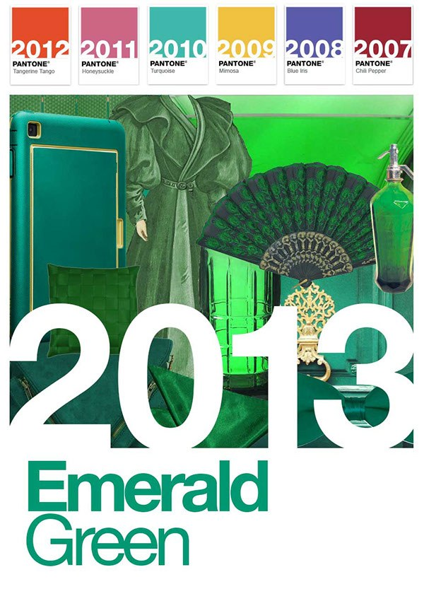 Pantone color of the year 2013 Emerald Green - Carrie Loves Blog