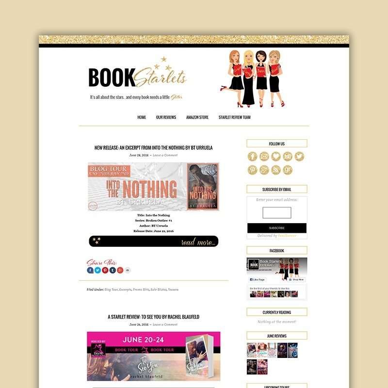 Book Starlets Carrie Loves Portfolio