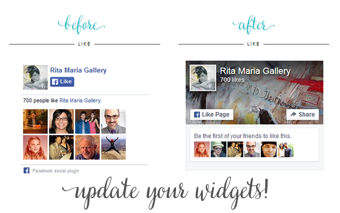 facebook like box page update ex