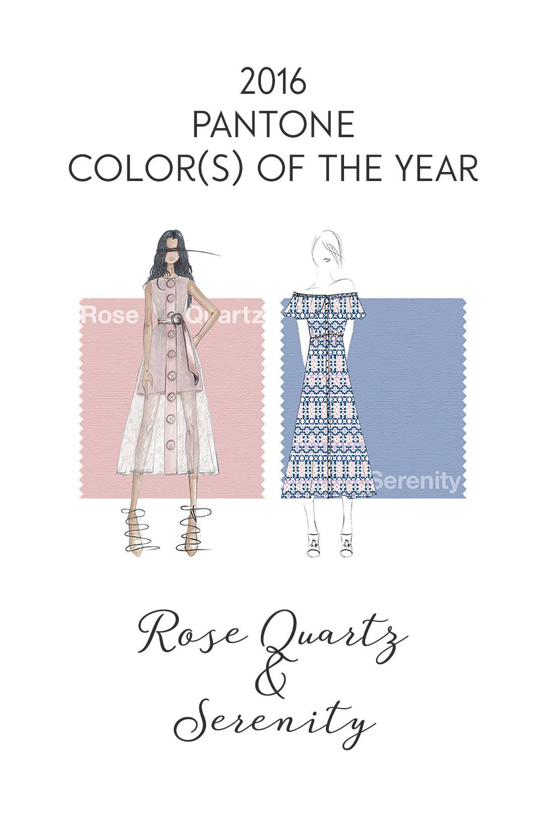 Pantone Color of the Year 2016 Rose Quartz & Serenity - Carrie Loves Blog