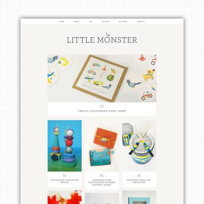 The Little Monster Blog