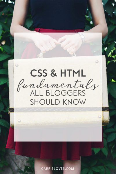 Blogger's Guide to HTML and CSS