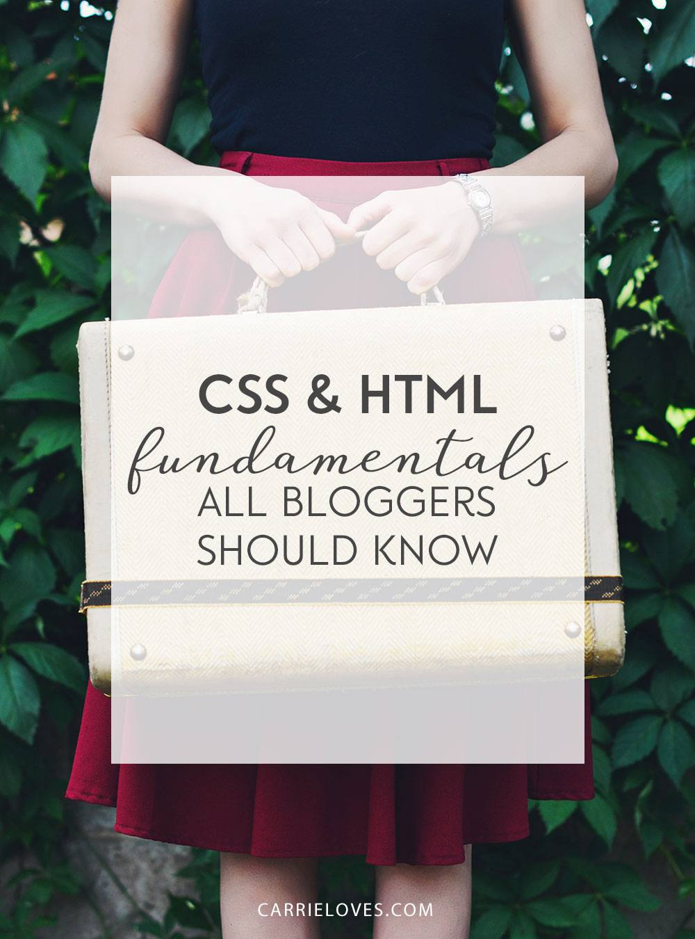 CSS and HTML code bloggers should know - Carrie Loves Blog