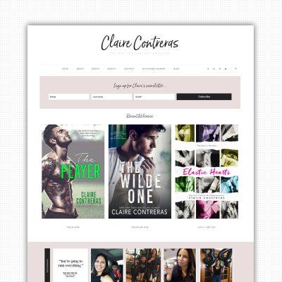 Claire Contreras Books